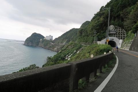 20大崩海岸トンネル