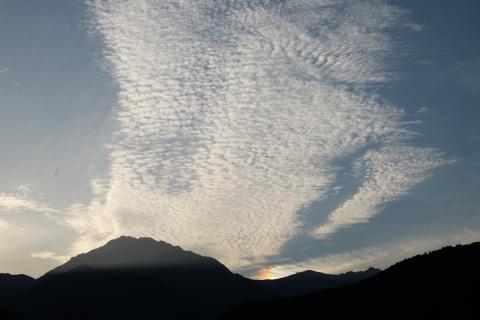 24大町へ彩雲
