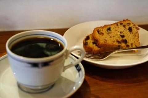 03ヤルクコーヒーフルーツケーキとコスタリカ