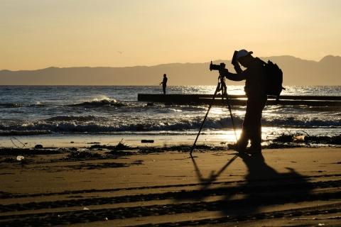 14江の島・東浜カメラマン