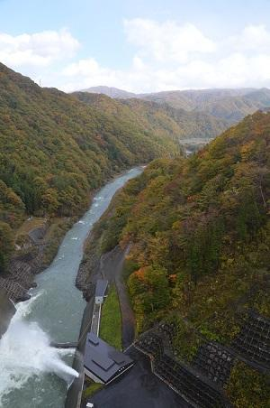 20171030湯西川ダム10