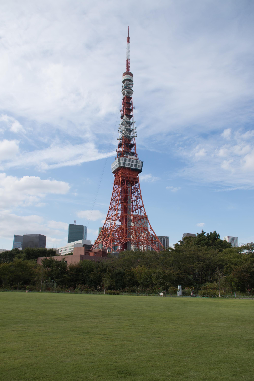 20171005-芝生広場東京タワー