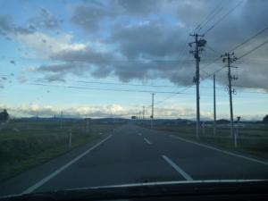 福島県に入りました。