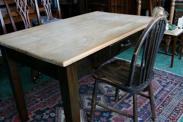 アンティーク家具 パインテーブル