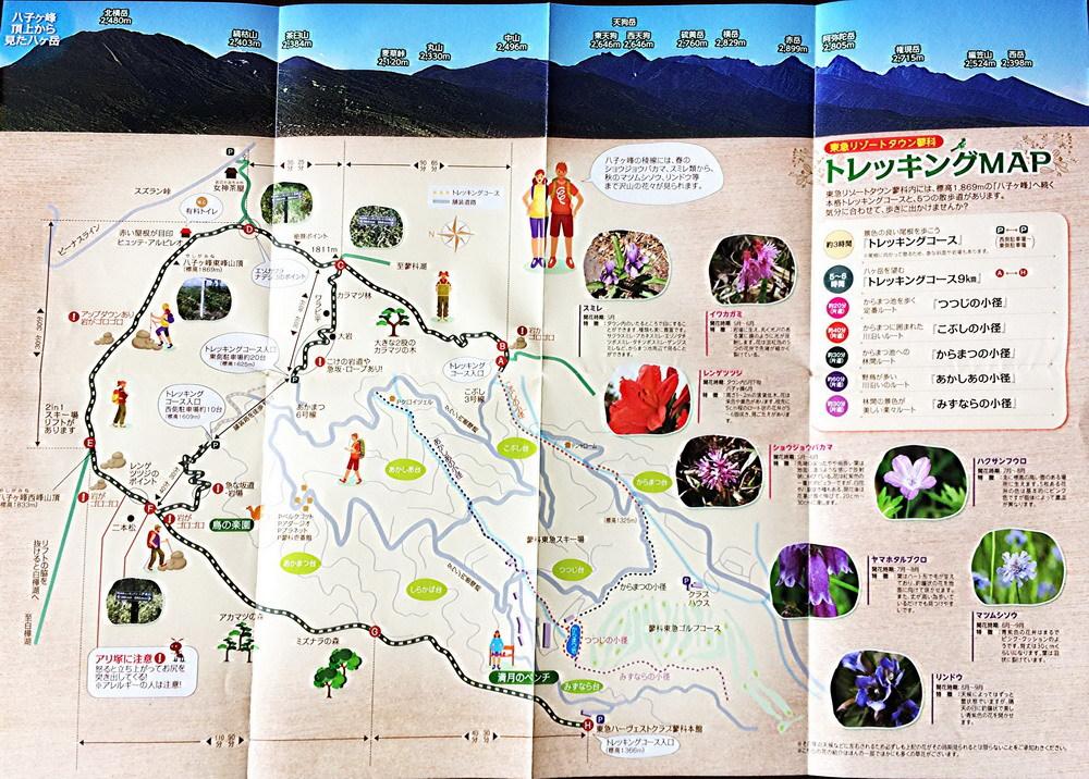 トレッキングマップ1000