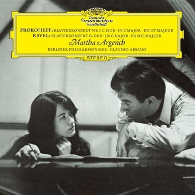 Prokofiev_PianoCon3_Ravel PianoCon_argerich abbado berlinPhil