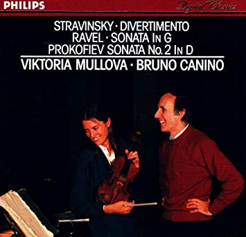 Stravinsky Divertimento_Prokofiev Sonata2_Mullova Canino