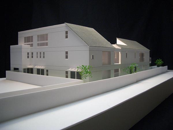コーポラティブハウス模型1