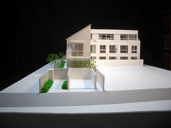 コーポラティブハウス模型3