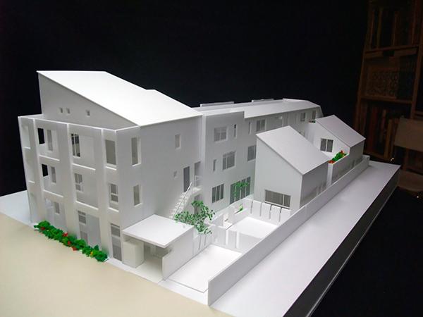 コーポラティブハウス模型4