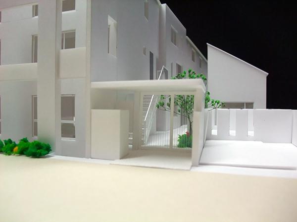 コーポラティブハウス模型5