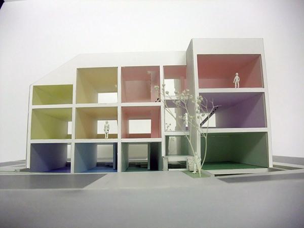 コーポラティブハウス模型6