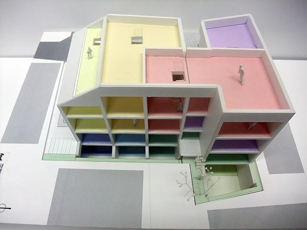 コーポラティブハウス模型7