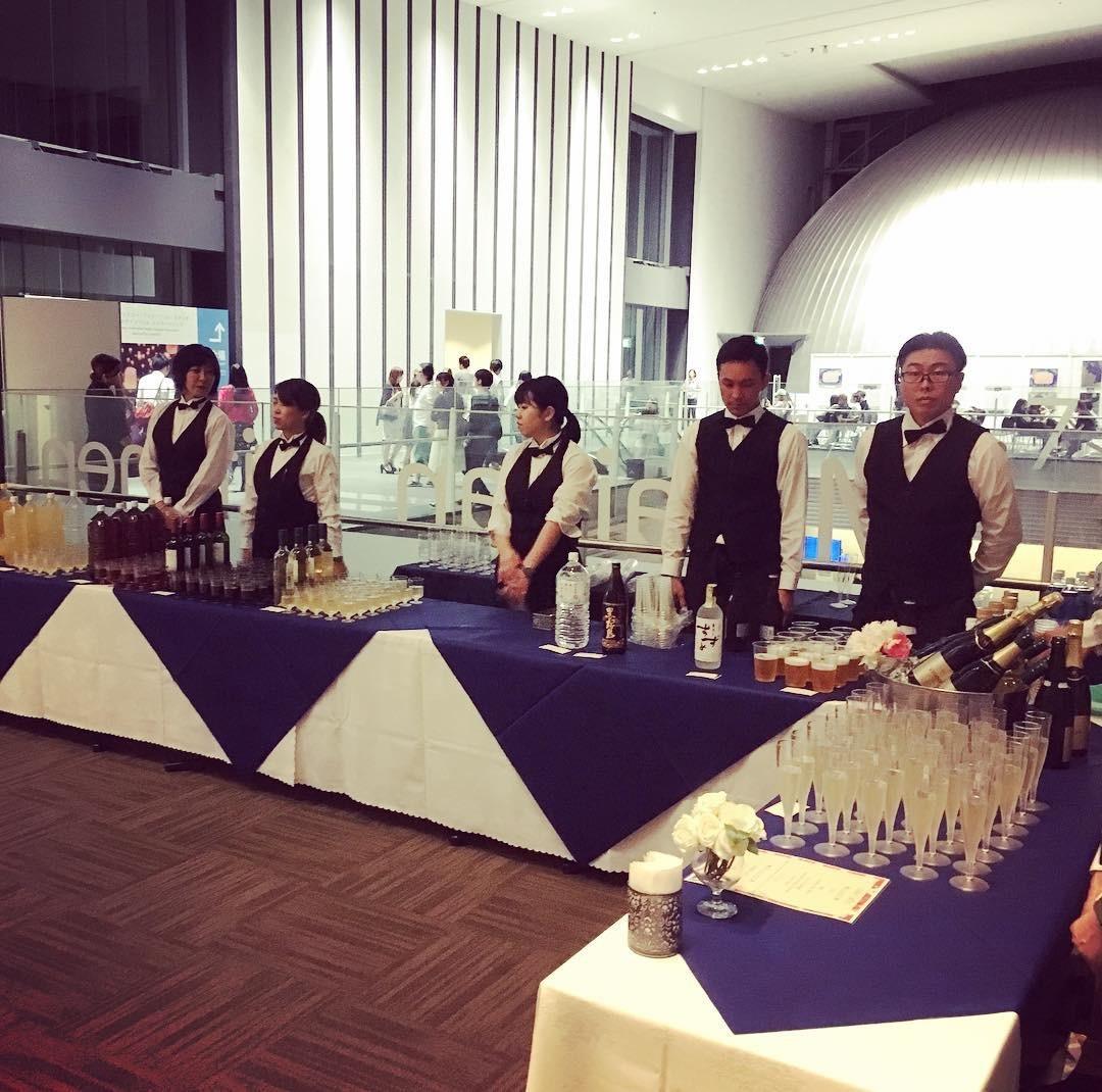 日本科学未来館 パーティーケータリング 国際会議