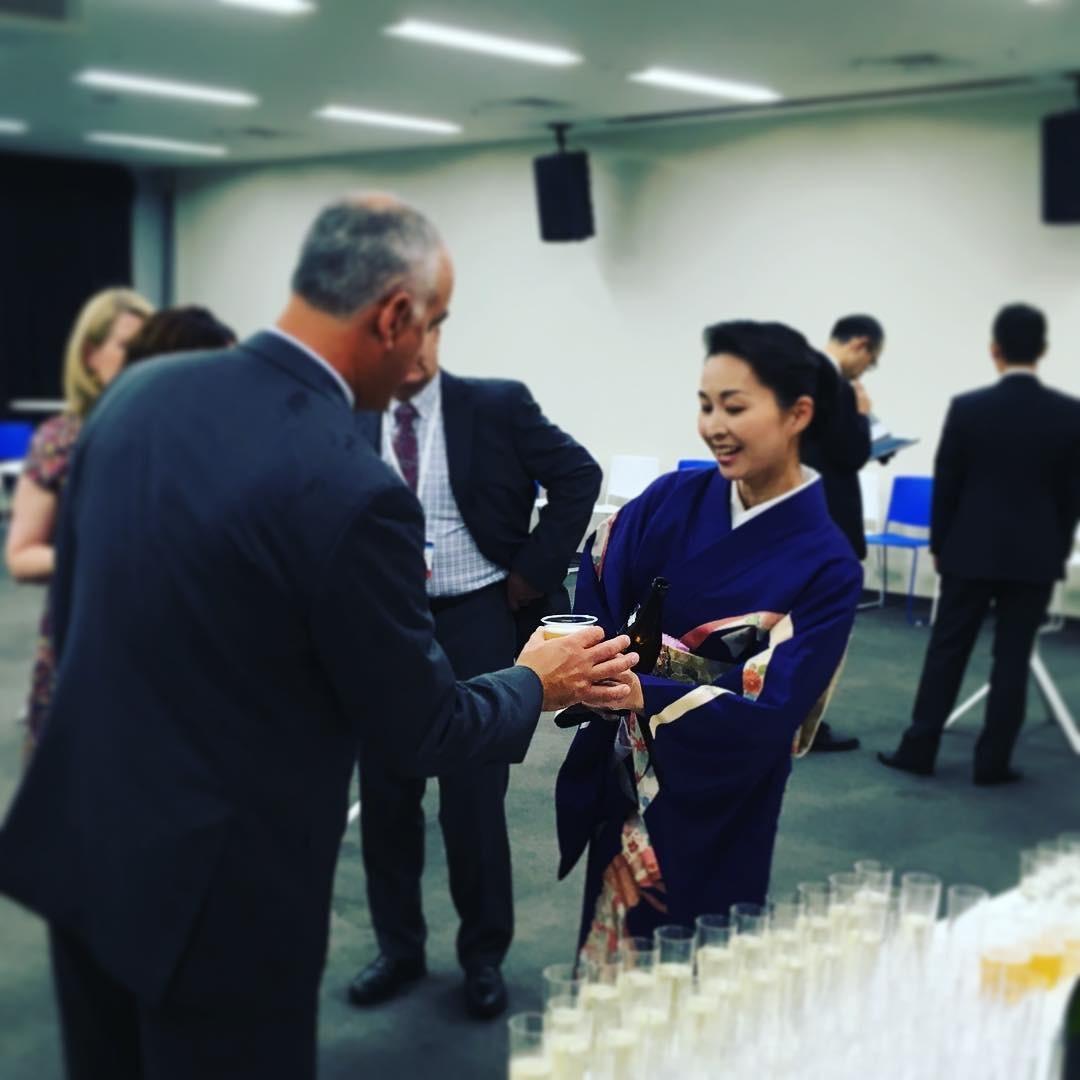 国際会議 日本科学未来館 和のおもてなし