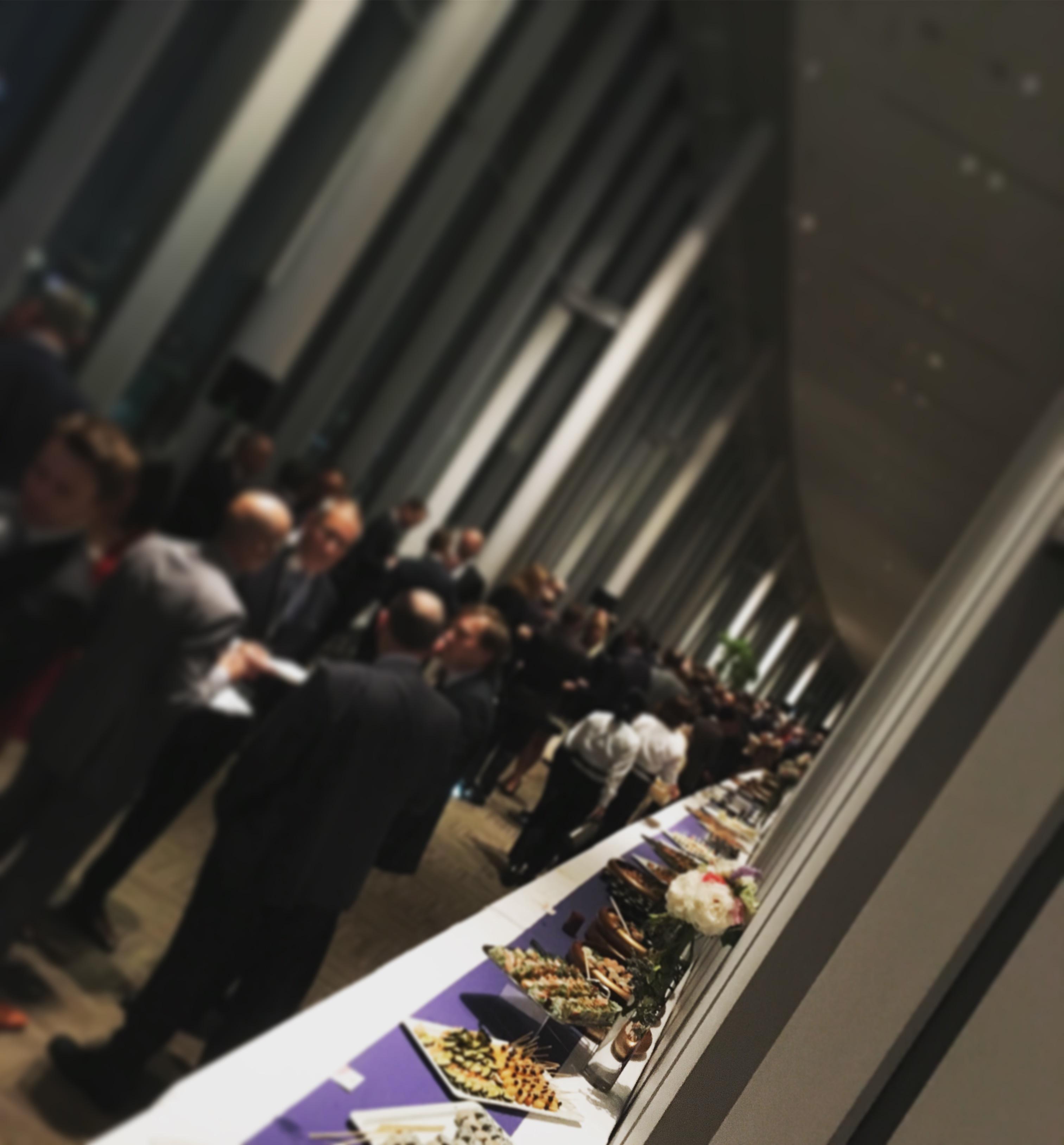 日本科学未来館 国際会議パーティー ケータリング