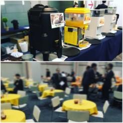 大阪 ATCホール 展示会商談会 プライベートショー ドリンク ケータリング