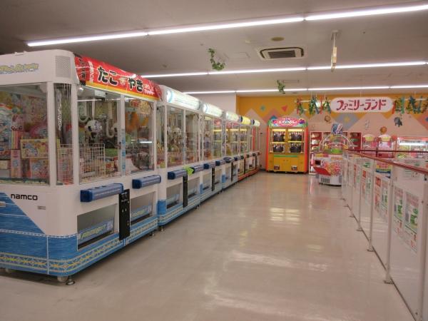 2階ゲームセンター
