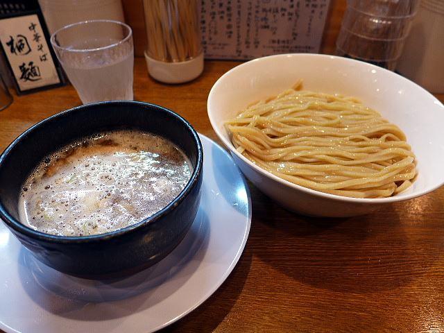 中華そば 桐麺@03鶏白湯つけめん(こってり) 1