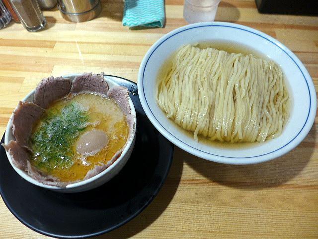 麺や 清流@13サンマ水つけ麺 その2 1