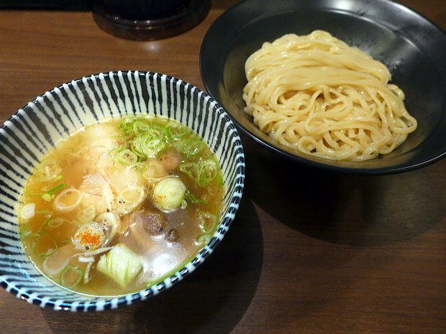 岡ほし@02鮪ねぎま塩つけ麺 1