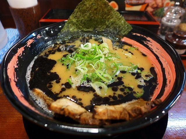 麺や 聰@01豚骨醤油特製ラーメン 1