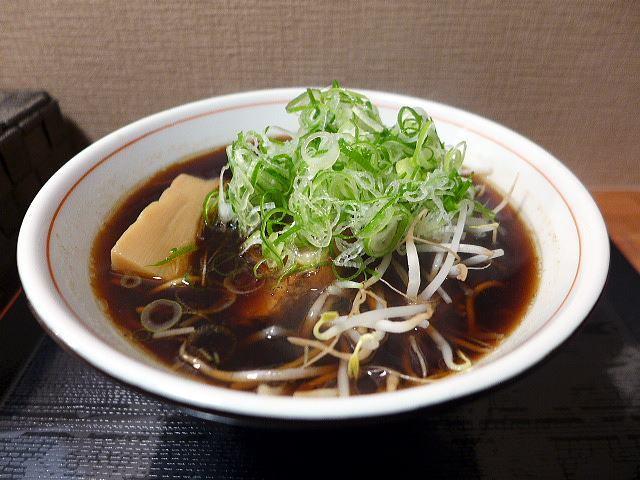 夜鳴きそば じぃ麺@01しょうゆらーめん(中) 1