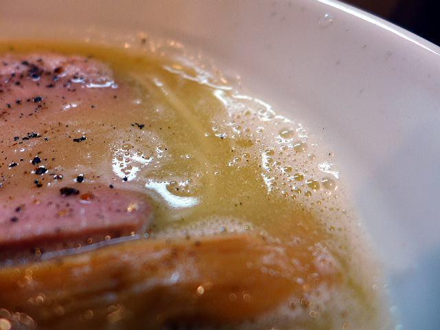 麺や 一想@09鶏白湯 塩 その3 2
