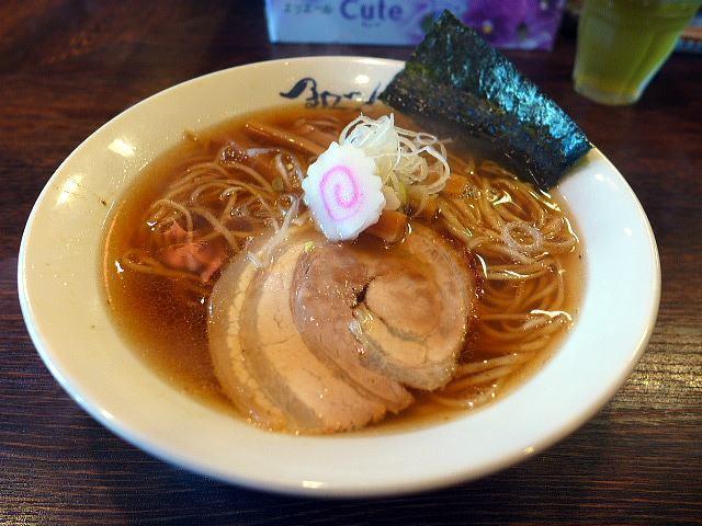 麺や 紡@04淡成らー麺 1