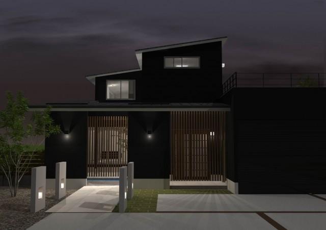 滋賀,注文住宅,モダン住宅,デザイナーズ住宅,一級建築士事務所,家,滋賀県,和風,和モダン