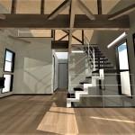 モダンな家の内装プラン
