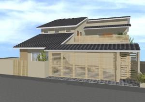 和風住宅,和風建築,冠木門,注文住宅,一級建築士事務所,デザイナーズ住宅,モダン住宅