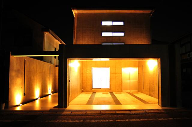 1京都市北区上賀茂のRC造の家
