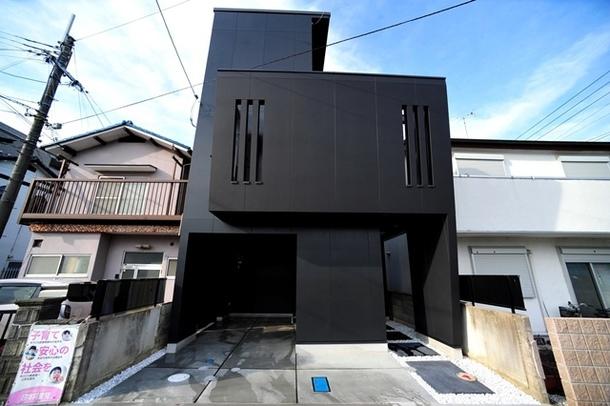 2滋賀県大津市膳所の狭小住宅