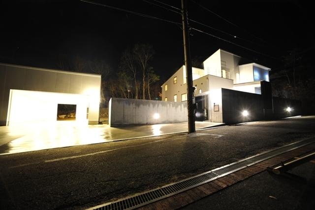 11滋賀県大津市比良のガレージハウス