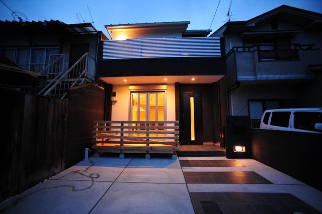 13京都市左京区一乗寺のナチュラルモダンの家