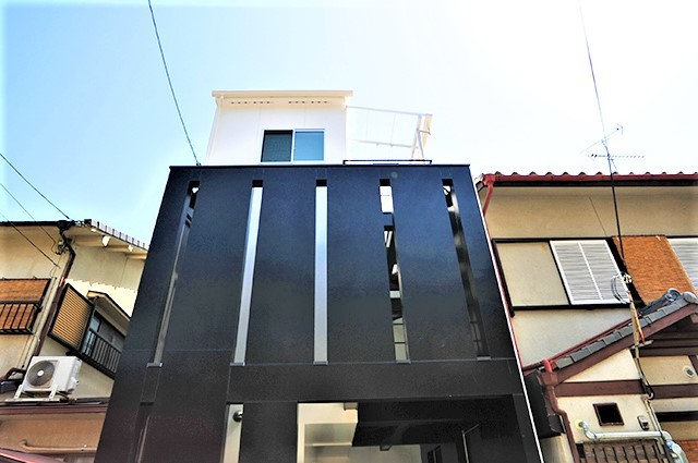 14京都市右京区西京極の狭小二世帯住宅