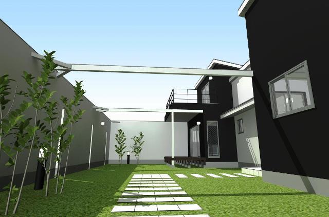 都市,滋賀県で家を設計,施工!一級建築士事務所の日差しを感じられる家