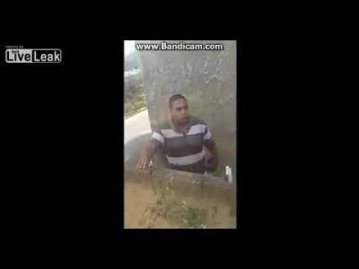 【衝撃!】近隣との言い争いで少女が撃たれて死亡した瞬間映像!