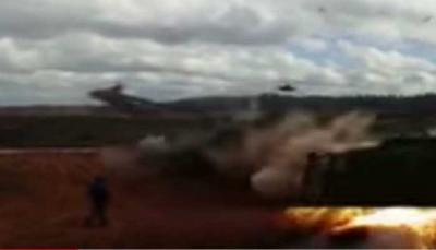 【苦笑】恐ロシアン!ヘリが間違えてミサイル発射!