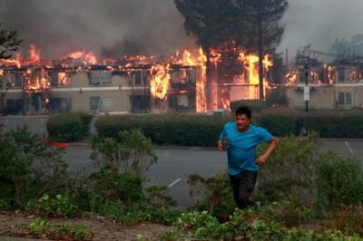 【衝撃!】史上最悪カリフォルニア州ナパ地区を襲った山火事の現場映像が深刻!
