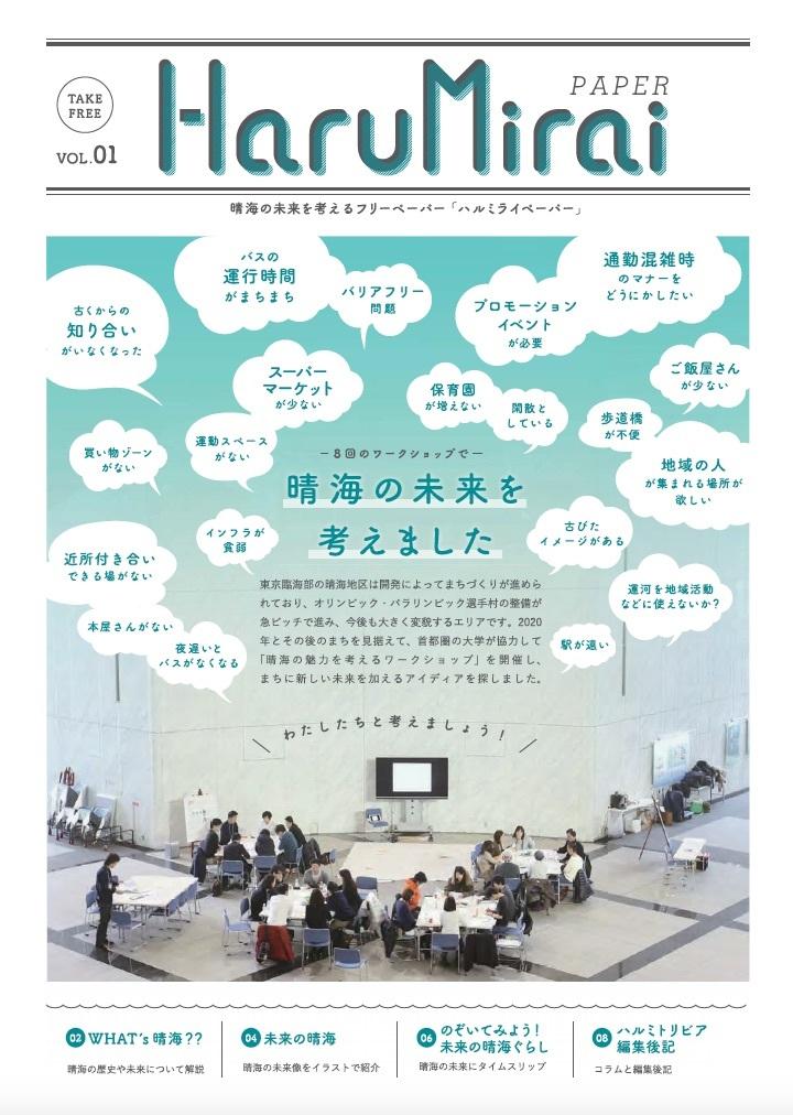 482 晴海の未来を考えるフリーペーパー HaruMirai 創刊