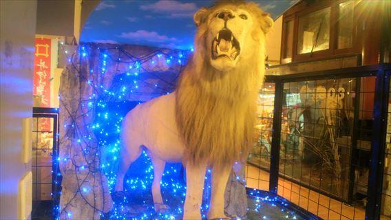 幸運のライオン