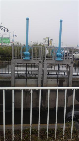 二郷半用水の水門
