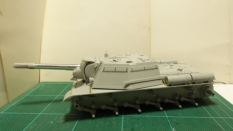 トランペッター その3 No.01571 ソビエト軍 SU-152 重自走砲 その5