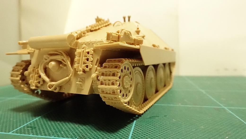 タミヤのミリタリーミニチュアシリーズ No.285 ドイツ駆逐戦車 ヘッツアー 中期生産型 その5