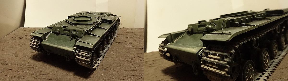KV-1B戦車 プラモの写真 その1