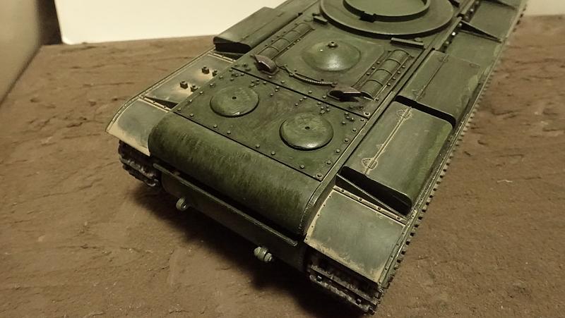 KV-1B戦車 プラモの写真 その2