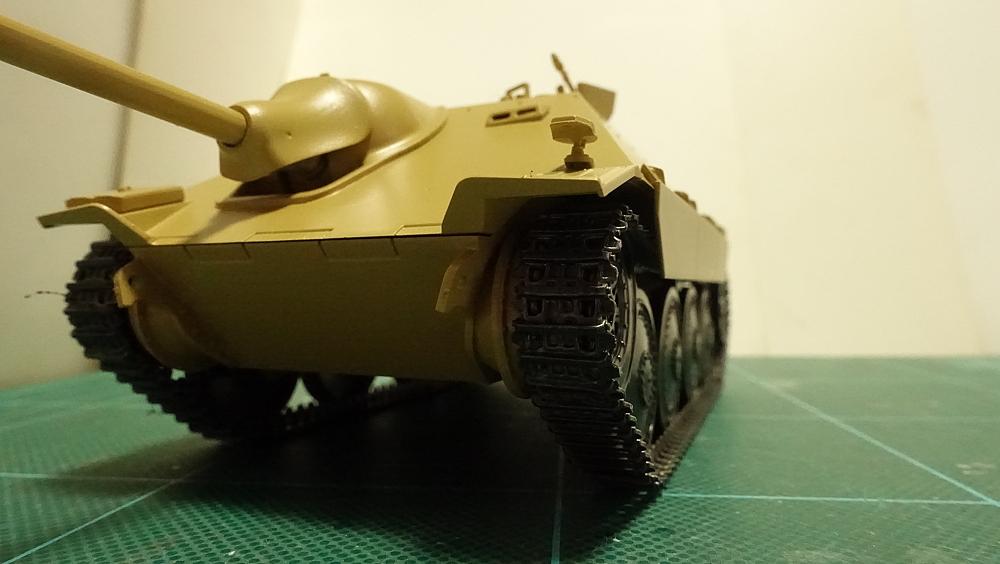 タミヤのミリタリーミニチュアシリーズ No.285 ドイツ駆逐戦車 ヘッツアー 中期生産型 その4
