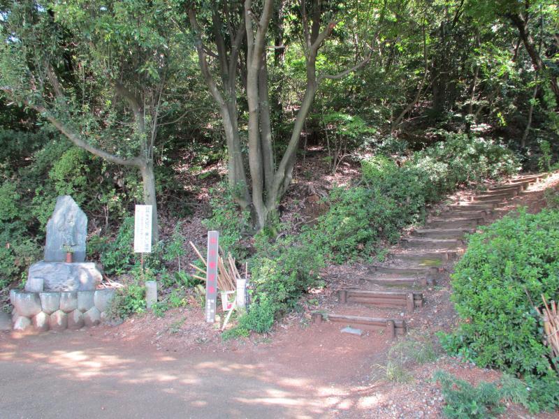 三井山7登山口